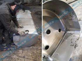 Промывка топливного бака Рено изнутри