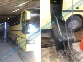 Ремонт топливного бака автобуса Setra