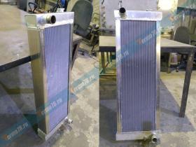 Изготовление радиатора бульдозера Четра