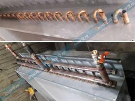 Ремонт радиатора промышленного кондиционера