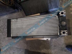 Ремонт радиатора охлаждения погрузчика  Sisu