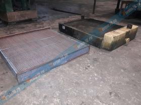 Ремонт радиатора дизель генератора