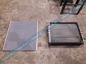 Ремонт масляного радиатора электростанции