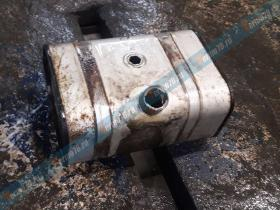 Ремонт топливного бака погрузчика Sisu