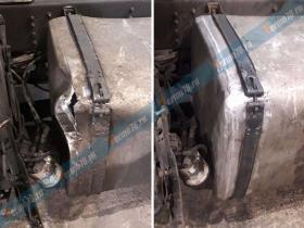Ремонт топливного бака Scania P