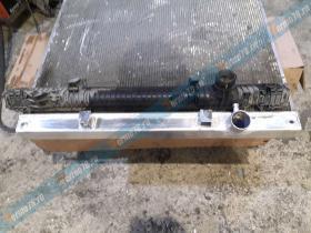 Замена пластикового бочка радиатора охлаждения на алюминиевый Ман ТГА