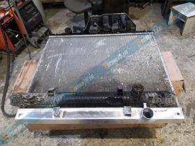Изготовление бочка радиатора охлаждения Ман ТГА