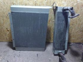 Ремонт радиатора спецтехники